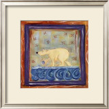 Paul the Polar Bear Prints by Pam Staples