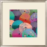 Parasols I Poster by Jon Hart Gardey