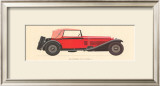 Alfa Romeo, 1930 Poster by Antonio Fantini