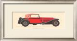 Alfa Romeo, 1930 Poster by Antonio Fantini