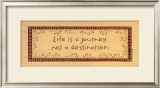 Life is a Journey Prints by Karen Tribett