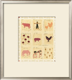 Trip to the Barnyard Posters by Aneeta Verma