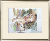 Reclining Woman Prints by Jerry Brody