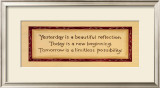 Yesterday, Today, Tomorrow Posters by Karen Tribett