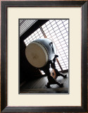 Taiko Drum That Was Inside of the Temple Prints by Ryuji Adachi