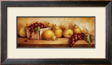 Fruit Panel I Poster by Peggy Thatch Sibley