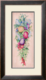 Vegetable Garland Print by Clare Lake