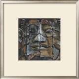 Stone Faces of Bayon, Cambodia Prints by Sue Warner