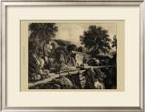 Wensley Mill Print by George Cuitt