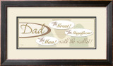 Dad, the Great Print by Pela 