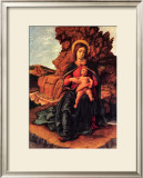 La Vierge a la Grotte Art by Andrea Mantegna