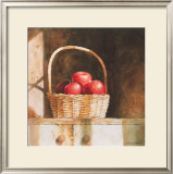 Wooden Apples, 1987 Print by Mark A. Stewart