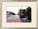 Narrow Bridge, Venice Beach, California Framed Giclee Print by Steve Ash