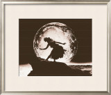 Moon Dancer, Hula Girl Prints by Alan Houghton