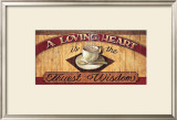 Loving Heart Poster by Brent Mcrae