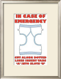 In Case of Emergency I Prints by Russ Lachanse