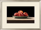Plums on Celadon Posters by John Arbuckle