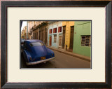 Back Street Cuba Framed Giclee Print by Charles Glover