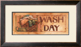 Wash Day Posters by Diane Knott
