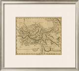 Asia Minor, c.1812 Framed Giclee Print by Aaron Arrowsmith