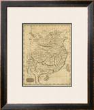 China, c.1812 Framed Giclee Print by Aaron Arrowsmith