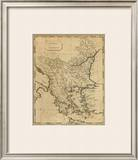 Turkey in Europe, c.1812 Framed Giclee Print by Aaron Arrowsmith