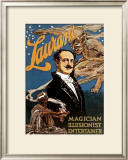 Lawrant the Magician Framed Giclee Print