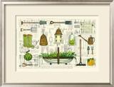 Garden Collection I Print by Ginny Joyner