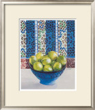Citrons Verts Print by Frederic Givelet