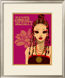 Asian Beauty at Party Print by Noriko Sakura