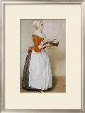 The Chocolate Girl Prints by Jean-Etienne Liotard