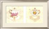 Victorian Teapots Art by Wanda Burrill-Kowalczyk