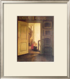 Children in Interior Prints by Carl Holsoe