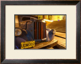 Curbside Cuba Framed Giclee Print by Charles Glover