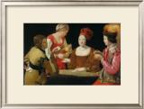 Le Tricheur de l'As de Trefle Art by George De La La Tour