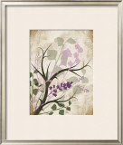 Lavender and Sage Florish Poster by Jennifer Pugh