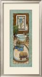 Baine de Blue II Art by Charlene Winter Olson
