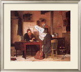 Waiting for the Stage Prints by Richard Caton Woodville