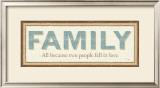 Family Prints by Alain Pelletier