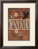 Cinema Print by Marilu Windvand