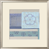 Decorative Asian Abstract III Print by Wendy Russell