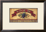 Love is Prints by Brent Mcrae