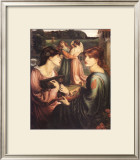 The Bower Meadow Poster by Dante Gabriel Rossetti