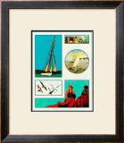 Yachting Poster by Santa