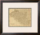 Netherlands, c.1812 Framed Giclee Print by Aaron Arrowsmith