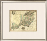Ohio and Indiana, c.1823 Framed Giclee Print by Henry S. Tanner