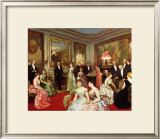 Une Soiree a l'Hotel de Verteillac, 35 Bd des Invalides Art by Horace De Callias