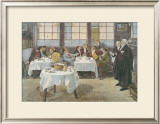 The Plaintiff and the Defendant Prints by Walter Dendy Sadler
