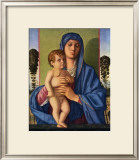 Madone et Enfants Print by Giovanni Bellini