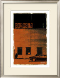 Detroit, Vice City in Orange Poster by Pascal Normand